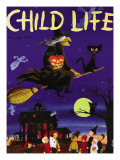 Witches Flight - Child Life  October 1953