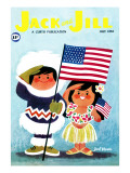 Alaska and Hawaii - Jack and Jill  July 1959