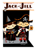 Pirate & Witch - Jack and Jill  October 1957