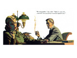 "To Live Forever  - Saturday Evening Post ""Men at the Top""  April 18  1953 pg21"