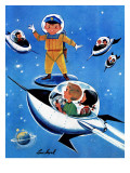 A Day in Outerspace - Jack and Jill  September 1957