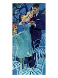 "Hunting a Husband - Saturday Evening Post ""Leading Ladies""  April 20  1957 pg37"