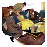 Marriagable Age - Saturday Evening Post &quot;Men at the Top&quot;  December 13  1958 pg28