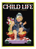 Happy New Year - Child Life  January 1928