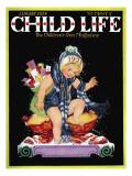 Happy New Year - Child Life  January 1928