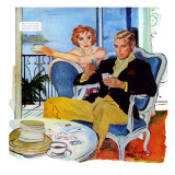 """The Swindler's Wife - Saturday Evening Post """"Men at the Top""""  December 13  1958 pg23"""