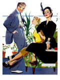 "Two Girls At Once - Saturday Evening Post ""Men at the Top""  November 8  1952 pg39"