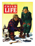 Ice Fishing - Child Life  February 1946