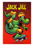 Skateboarding Dragon - Jack and Jill  April 1987