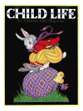 Happy Easter - Child Life  April 1928