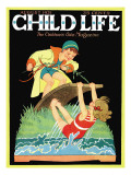 Summer Fun - Child Life  August 1931