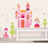Geraldine Cosneau Princess Wall Stickers