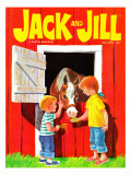 Feeding the Horse - Jack and Jill  July 1966