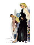 "No Man Around The House  - Saturday Evening Post ""Leading Ladies""  August 13  1955 pg31"