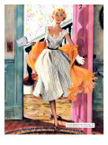 "The Lady's Future - Saturday Evening Post ""Leading Ladies""  February 6  1954 pg34"