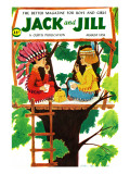 Treehouse Snack - Jack and Jill  August 1958