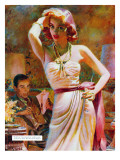 "She Wouldn't Believe Him - Saturday Evening Post ""Leading Ladies""  October 1  1955 pg29"