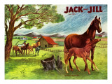 Horses - Jack and Jill  June 1946