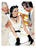 "Old Man's Darling  - Saturday Evening Post ""Leading Ladies""  March 8  1952 pg24"