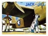 Military Dog - Jack and Jill  November 1942