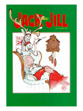 Sleeping Santa - Jack and Jill  December 1983