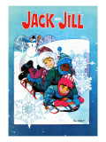 Sledding Fun - Jack and Jill  January 1981