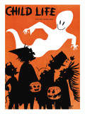 The Ghost Flys By - Child Life  October 1960
