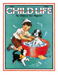 Time For a Bath - Child Life  June 1935