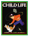 Runaway Kite - Child Life  March 1933