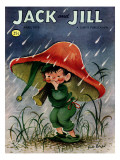 Elf in the Rain - Jack and Jill  April 1956