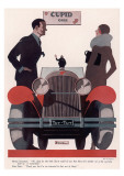 Art Deco Cupid Cars