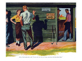 "The Wrong Kind of Boy  - Saturday Evening Post ""Leading Ladies""  April 18  1953 pg30"