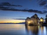 Switzerland  Vaud  Montreaux  Chateau De Chillon