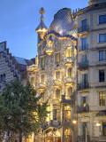 Casa Batllo (By Gaudi)  Passeig De Gracia  Barcelona  Spain