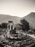 Greece  Delphi (Unesco World Heritage Site)  Sanctuary of Athena Pronaia  the Tholos