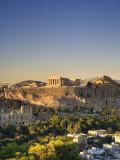 Greece  Attica  Athens  the Acropolis and Parthenon