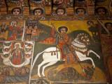 Ethiopia  Gondar  Debre Birhan Selassie Church