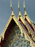 Scene around the Wat Arun Temple in Bangkok Thailand