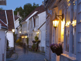 Old Wooden Buildings  Gamle Stan (Old Town)  Stavanger  Rogaland County  Norway