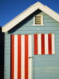 Australia  Victoria  Melbourne; Colourful Beach Hut at Brighton Beach