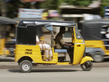 India  Tamil Nadu; Tuk-Tuk (Auto Rickshaw) in Madurai