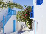 Mykonos (Hora), Cyclades Islands, Greece, Europe Papier Photo par Gavin Hellier