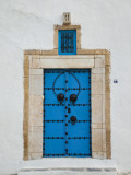 Tunisia  Sidi Bou Said  Building Detail
