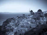 Greece  Cyclades  Santorini  Oia Town and Santorini Caldera