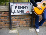 England  Liverpool  Penny Lane  Immortalized by Paul Mccartney