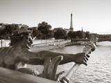 Pont Alexandre Iii and Eiffel Tower  Paris  France
