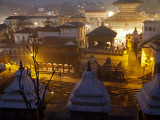 Nepal  Kathmandu  Pashupatinath Temple on the Banks of the Bagmati River