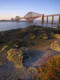 The Forth Rail Bridge  Firth of Forth  Edinburgh  Scotland;