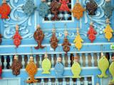 Tunisia  Tunis  Sidi-Bou-Said; Tourist Souvenirs