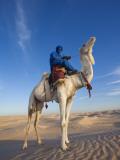 Tunisia  Sahara Desert  Douz  Great Dune  Rider and Camel